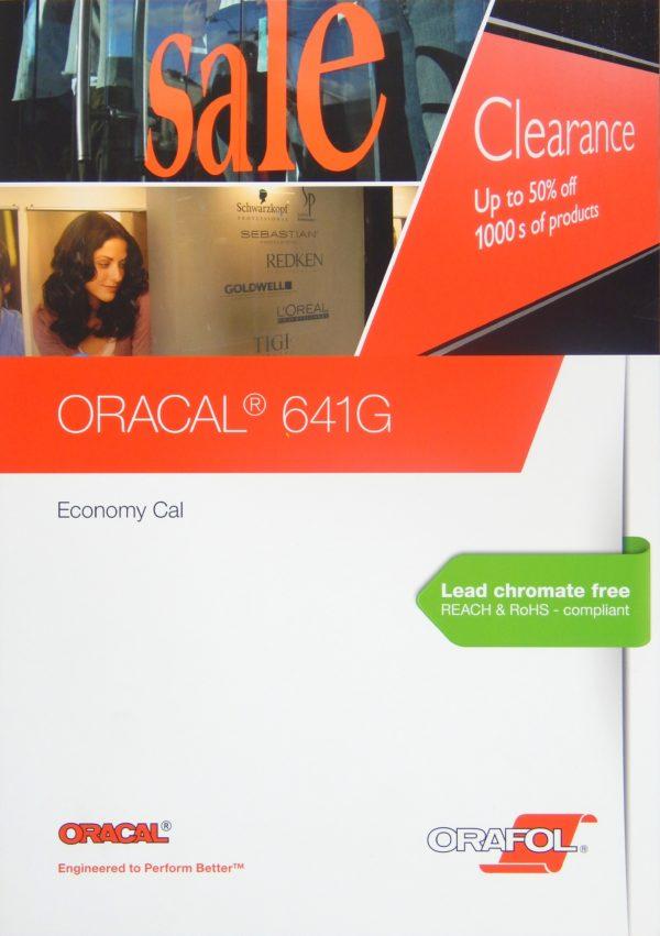 Wzornik folii Oracal seria 641 - okładka