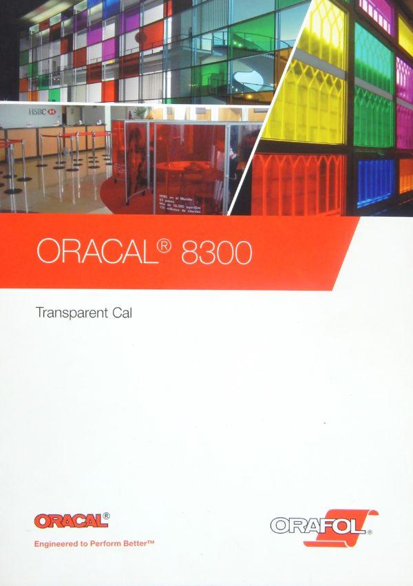 Wzornik folii Oracal seria 8300 - okładka