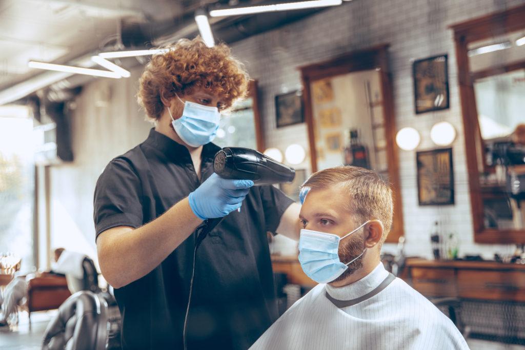 Plexi dla fryzjera